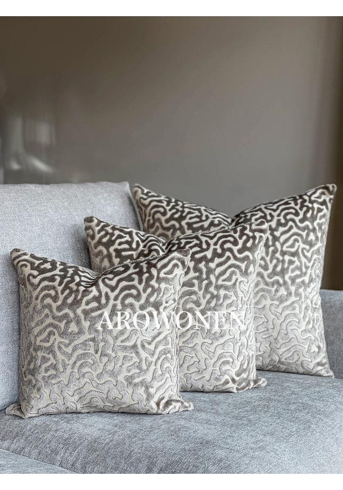 Decorative Cushion - Hippolyra - Taupe