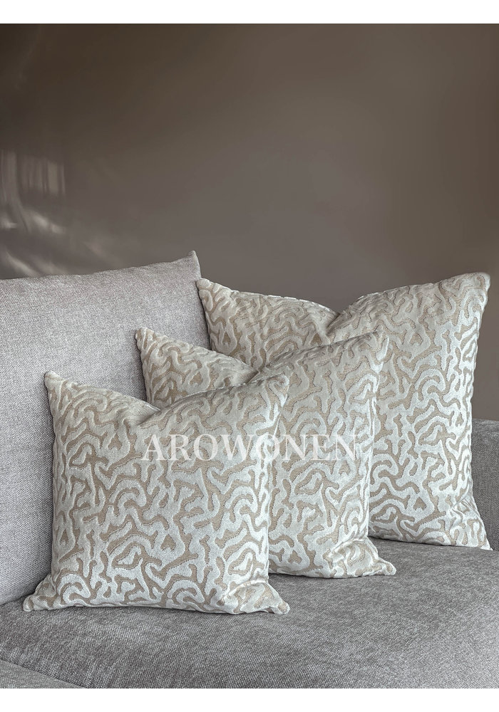 Coussin décoratif - Hippolyra - Frosting Cream