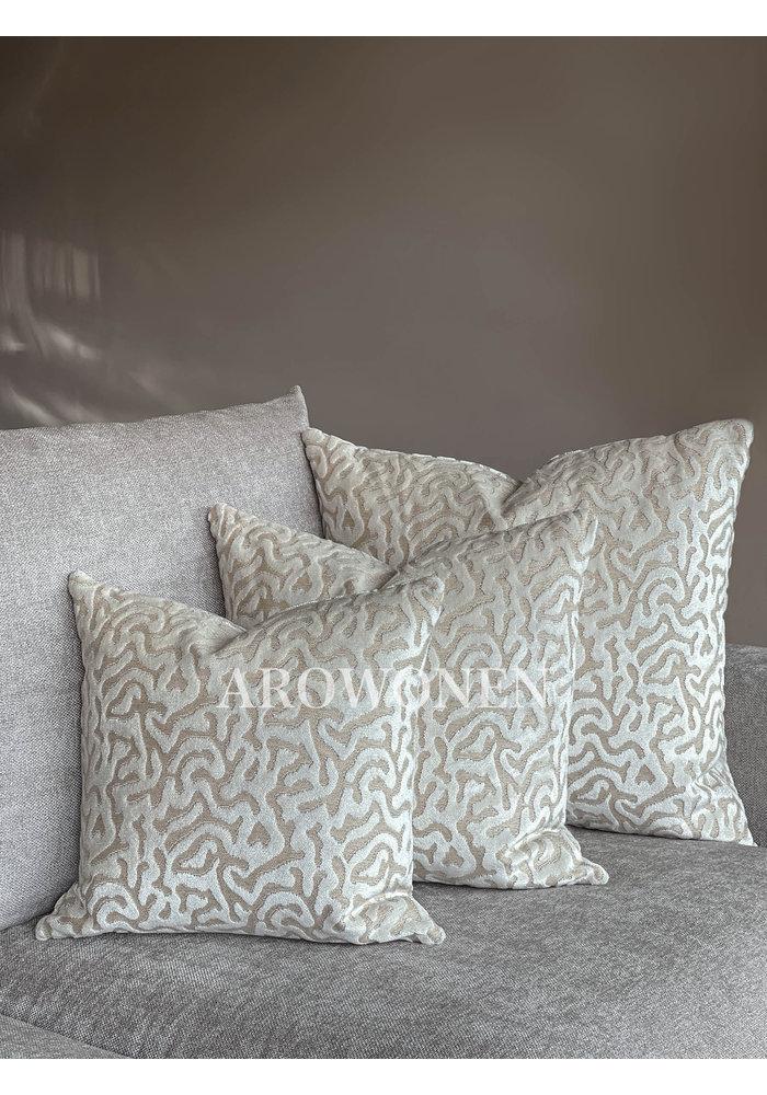 Decorative Cushion - Hippolyra - Frosting Cream