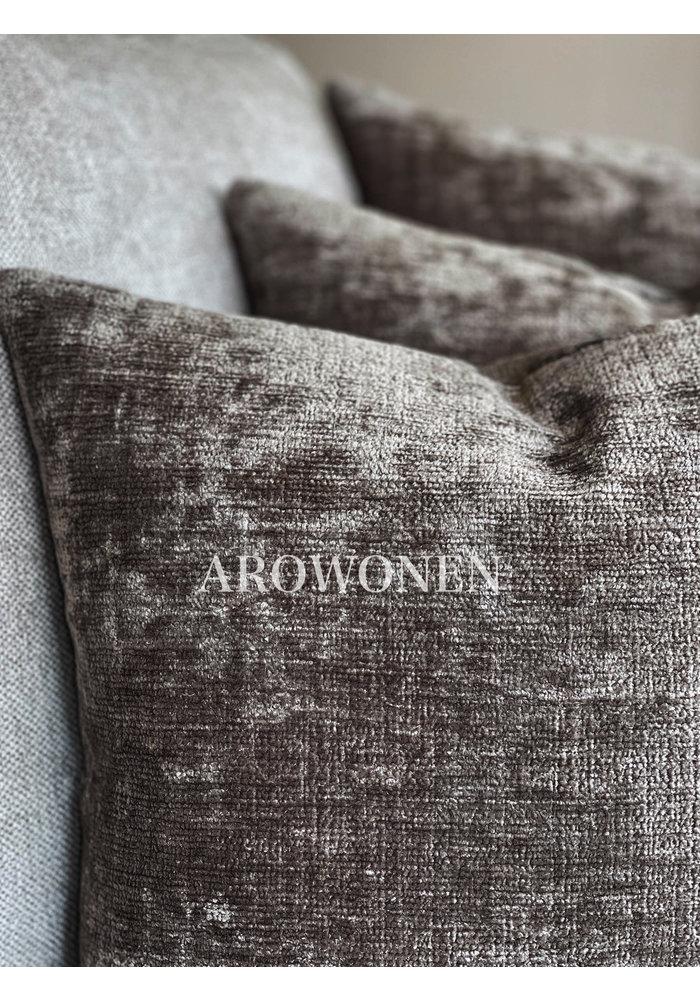 Decorative Cushion - Kaylani - Dark Taupe