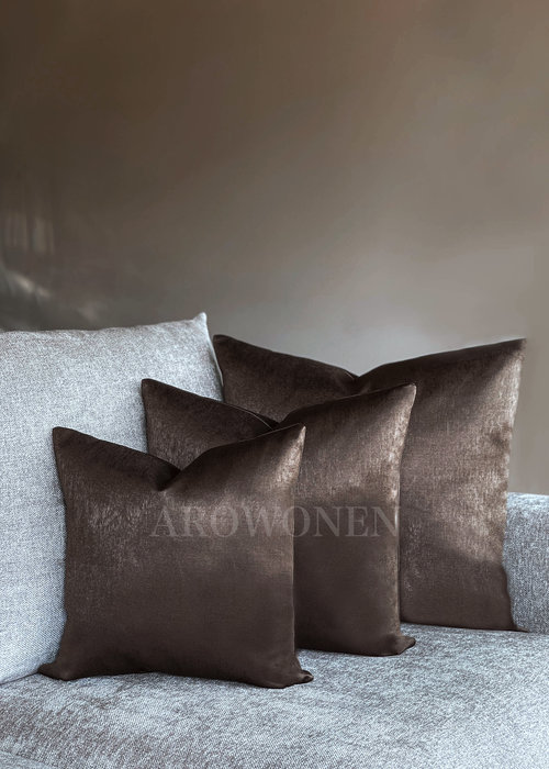 Decorative Cushion - Pandora - Choco Brown