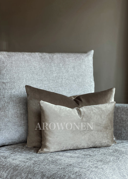 Coussin Décoratif -Amelia - Toffee Taupe