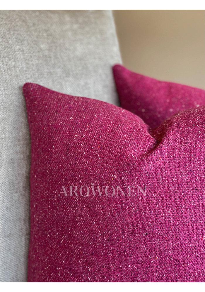 Decorative Cushion - Zyon - Dark Magenta