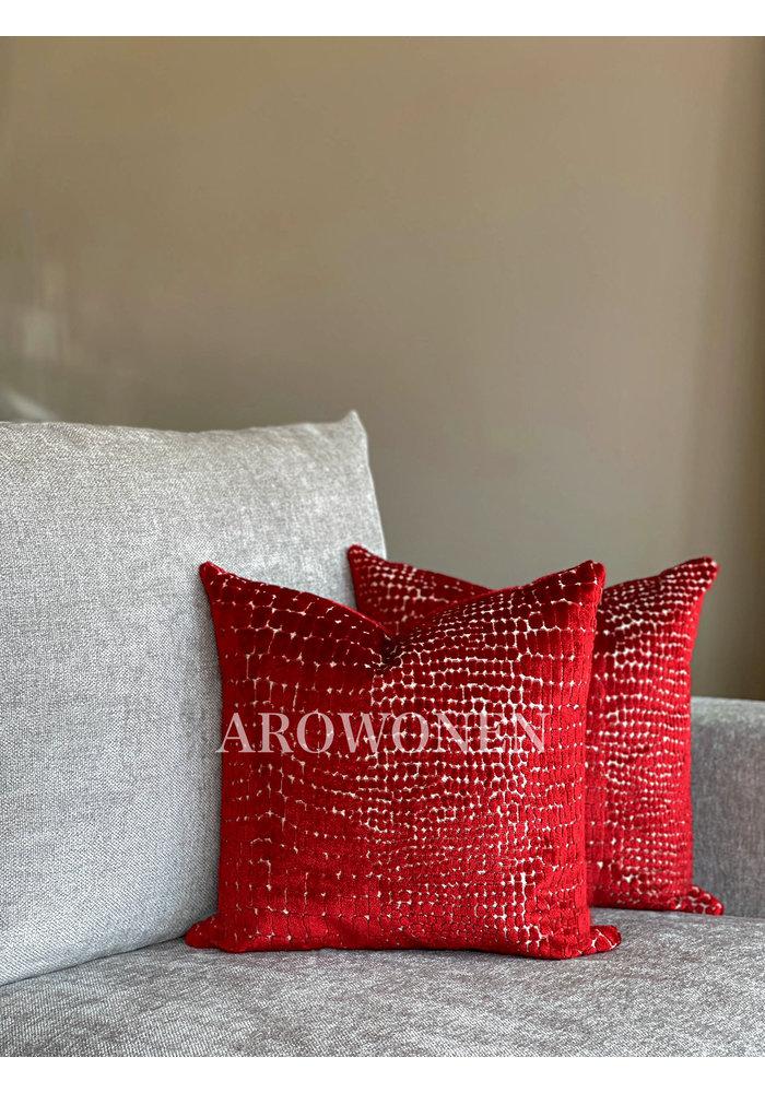 Sierkussen - Cordelia - Red