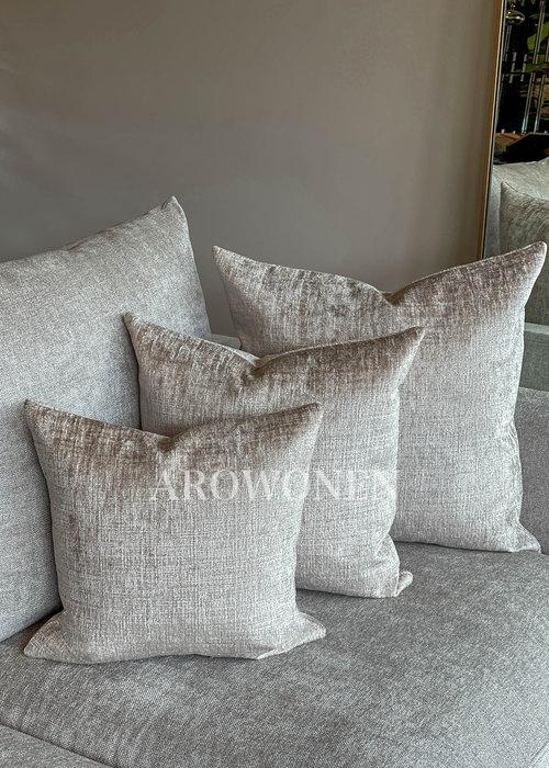 AROWONEN Decorative Cushion - Kaylani - Rosé Creme