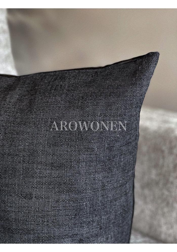 Decorative Cushion - Lin - Antraciet
