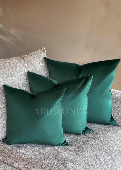 AROWONEN Decorative Cushion - Amelia - Rolex Green
