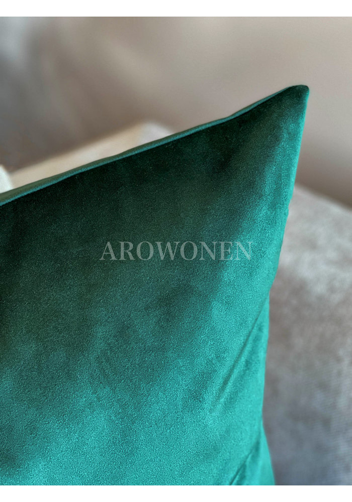 Decorative Cushion - Amelia - Rolex Green