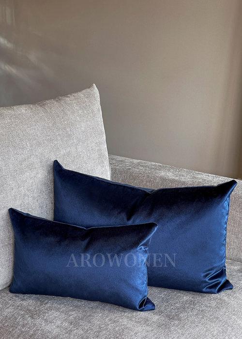 AROWONEN Decorative Cushion - Amelia - Royal Blue