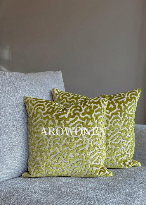 Decorative Cushion - Hippolyra - Limoen