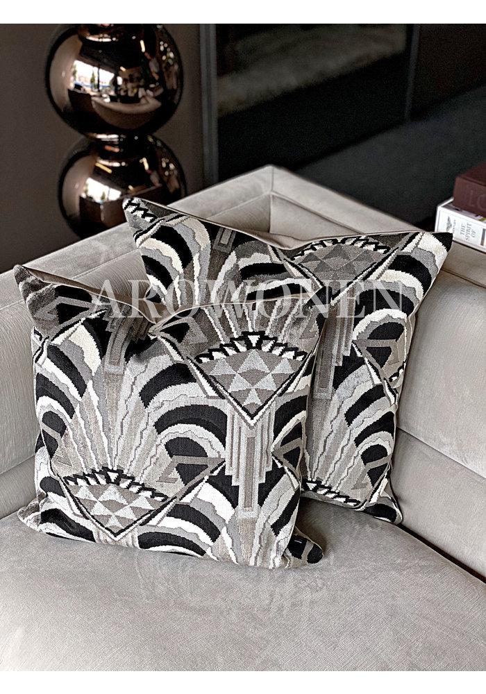 Decorative Cushion - Gatsby Black White