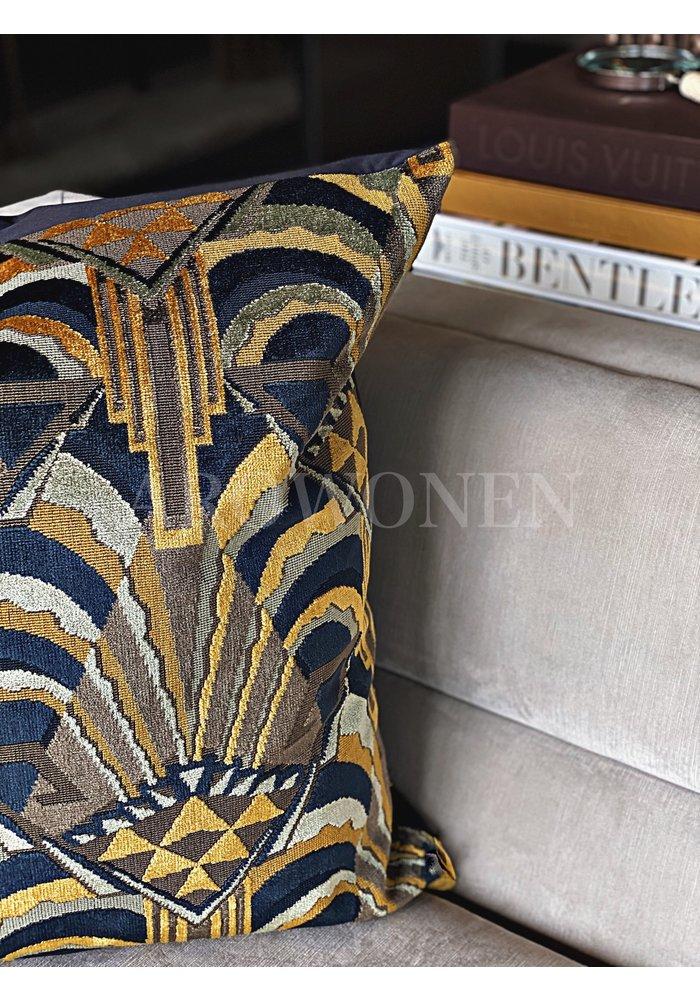 Decorative Cushion - Gatsby Mustard Olive