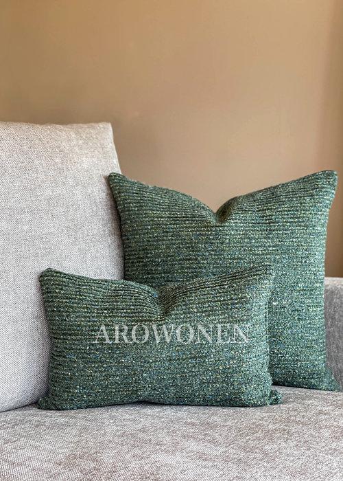 AROWONEN Decorative Cushion - Yadiel - Green