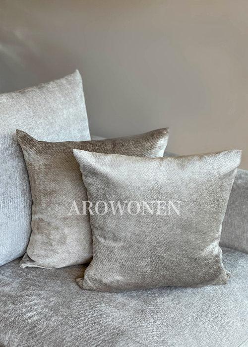 AROWONEN Decorative Cushion - Fiorella - Sand