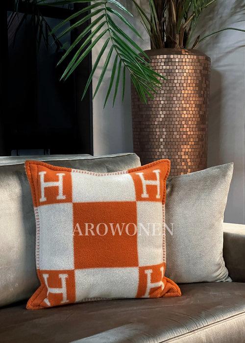 Hermés Sierkussen - Avalon - orange