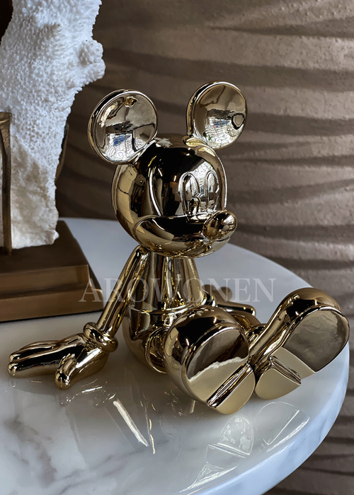 Disney Sitting Lil Mickey - Gold