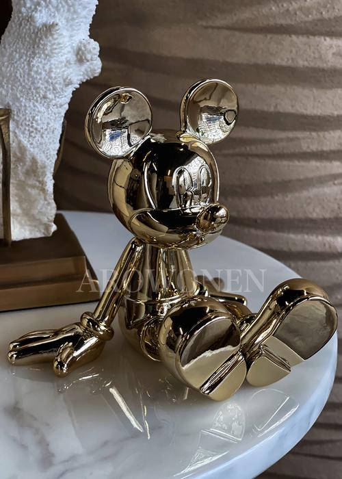 ✩ Disney Sitting Lil Mickey - Goud