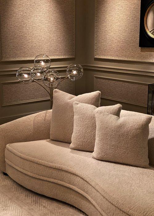 Decorative cushion  - Square Cookie Cream - L
