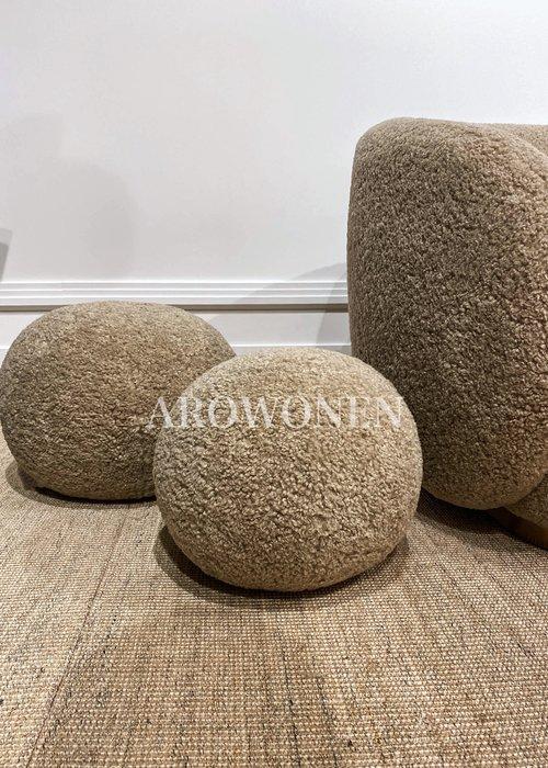 Decorative cushion  - Cookie Hazelnut - S