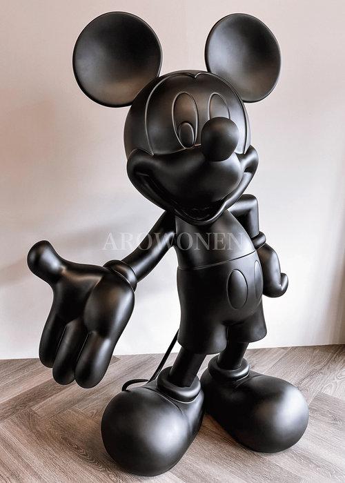 Levensgroot - Disney Mickey - Zwart