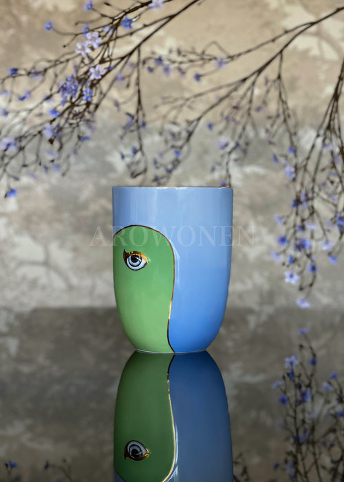 Vase - Lito - Aqua