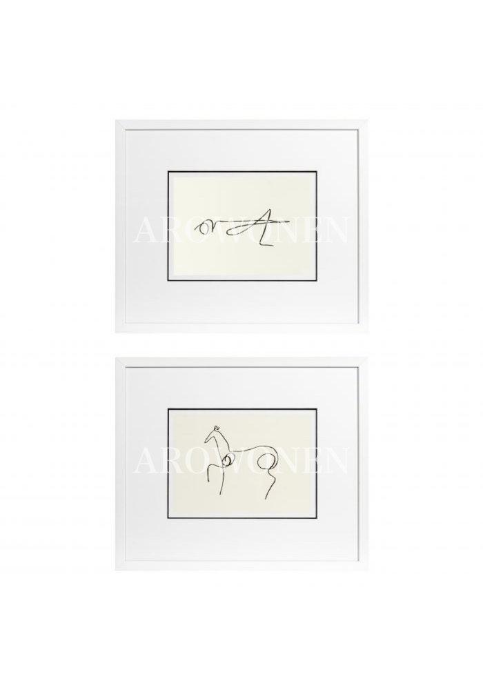 Frame - Prints - Pablo Picasso
