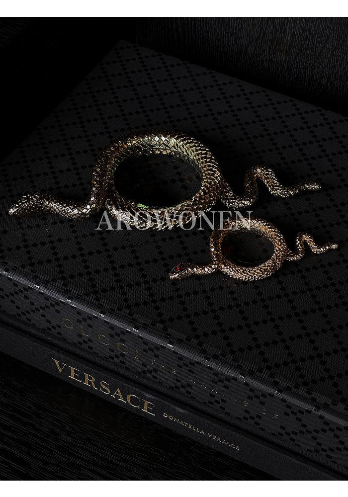 Snake away Gold -  Magnifying Glass - M