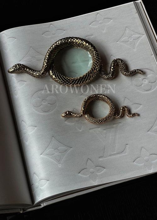 Loupe - Snake away Gold - M