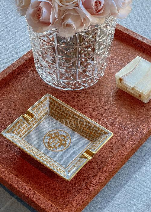 Hermés Ashtray - Mosaique au 24 gold