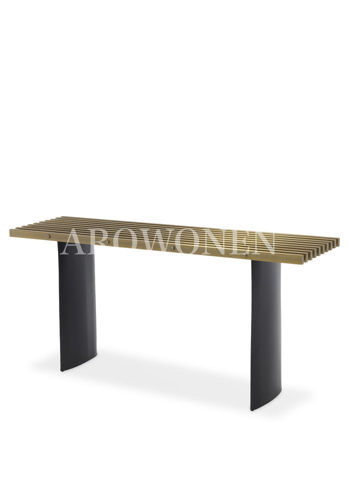Console - Hollywood - Brass