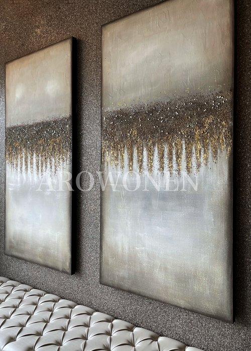 Art  Toile - Golden horizon - 200x100cm