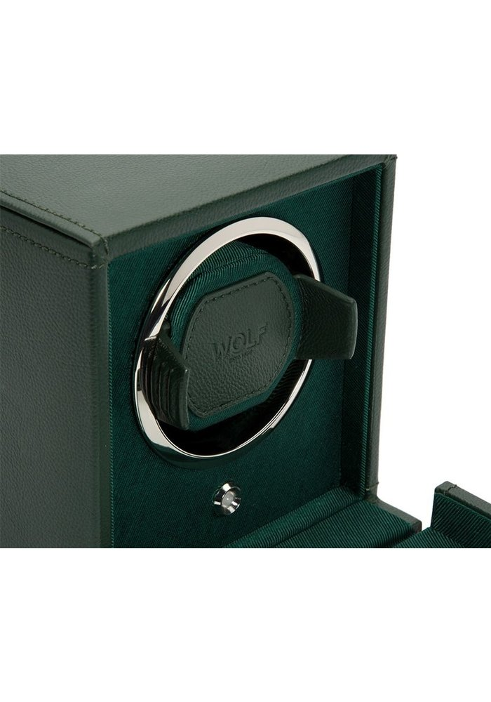 Watch Winder met opbergruimte  - Gale - Enkel - Rolex Groen