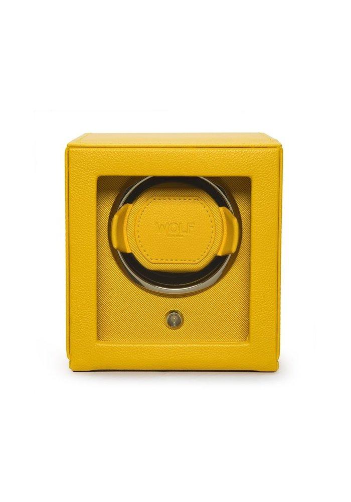Watch Winder with storage - Gale - Single - Ferrari Yellow
