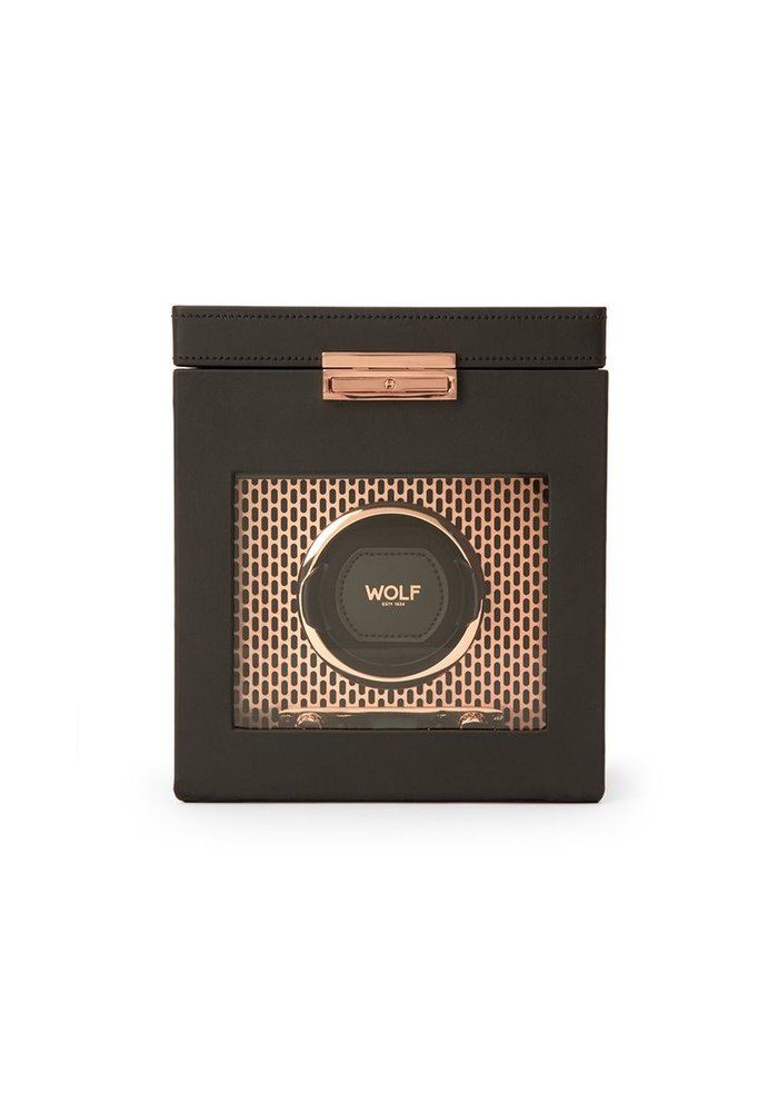Watch Winder with storage -  Roselily - Single - Copper
