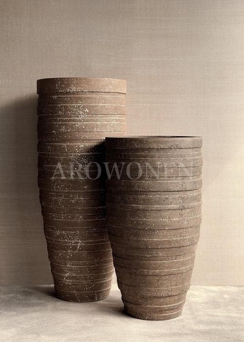 Vase - Blanche Junior   - Brown