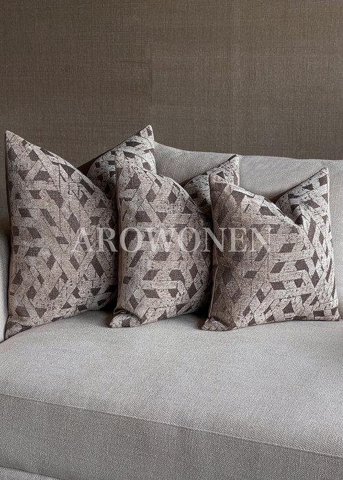 Decorative Cushion - Agnes - Light Brunette