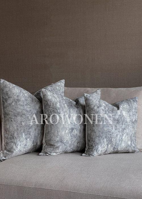 Decorative Cushion - Denim - Faded Blue