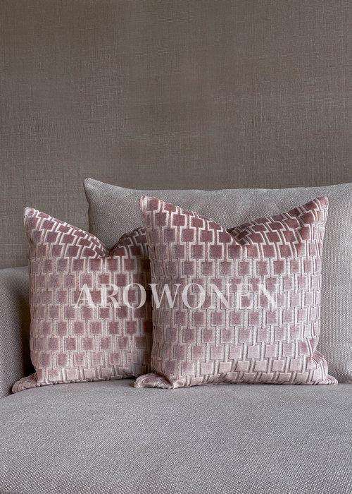 Decorative Cushion - Brooklyn - Pink Blush