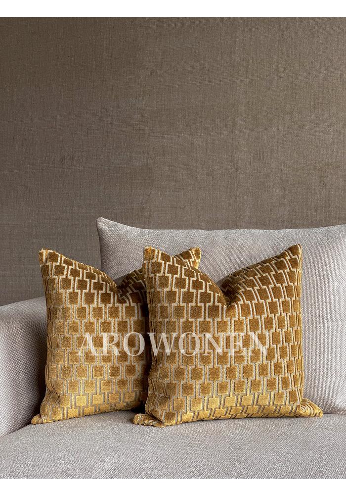 Decorative Cushion - Brooklyn - Yellow Ochre