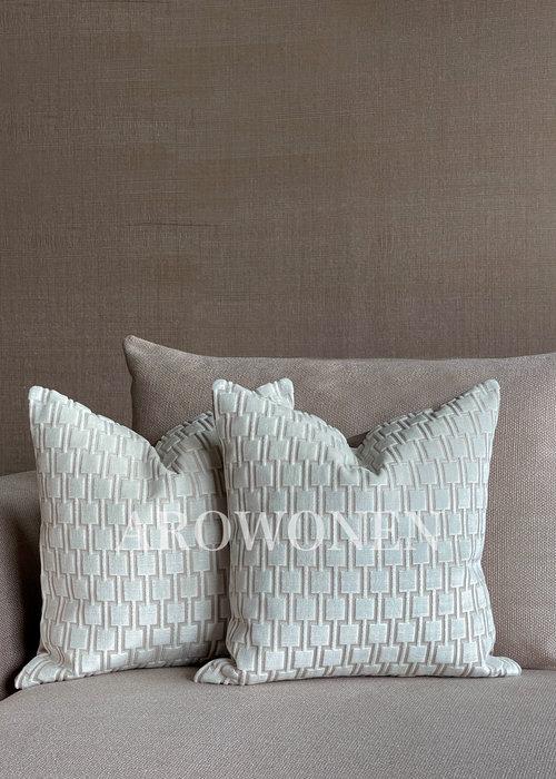 Decorative Cushion - Brooklyn - Malta White