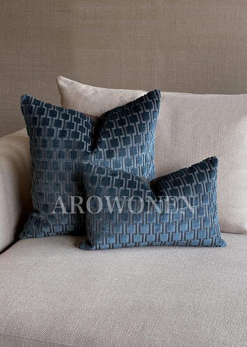 Decorative Cushion - Brooklyn - Napoleon Blue