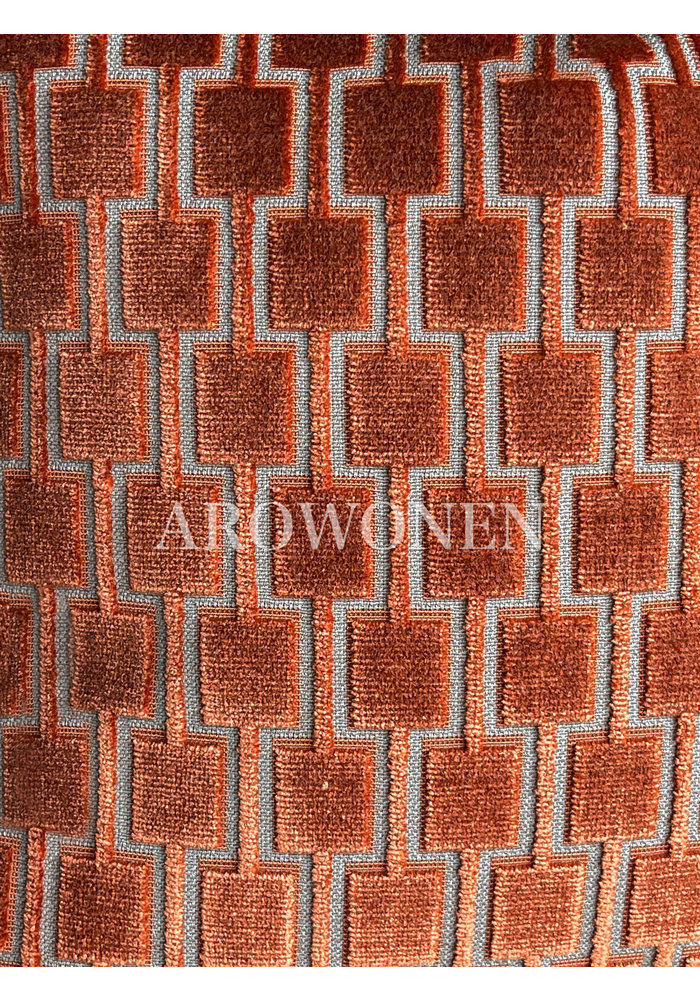 Decorative Cushion - Brooklyn - Burnt Orange