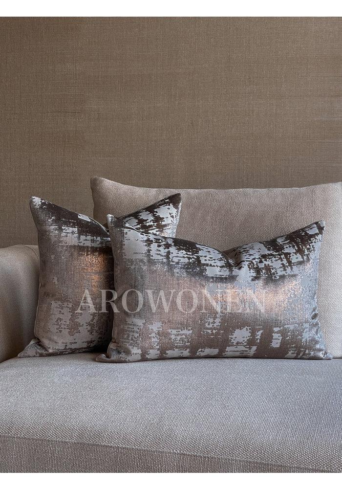 Decorative Cushion - Elettra - Crushed Bronze