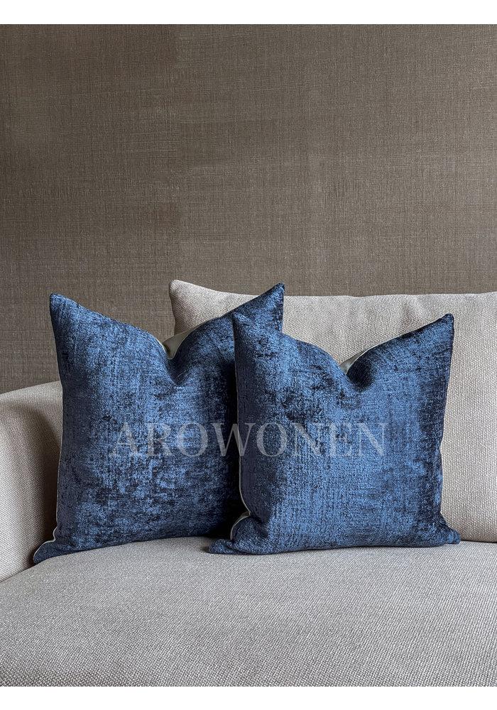 Decorative Cushion - Octavie - Admiral Blue