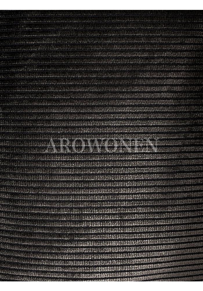 Decorative Cushion - Ribbelyn - Espresso Brown