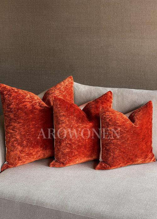 Sierkussen - Sketch - Lava Oranje