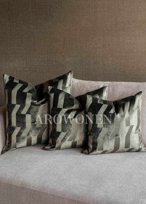 Decorative Cushion - Oliver - Olive Green