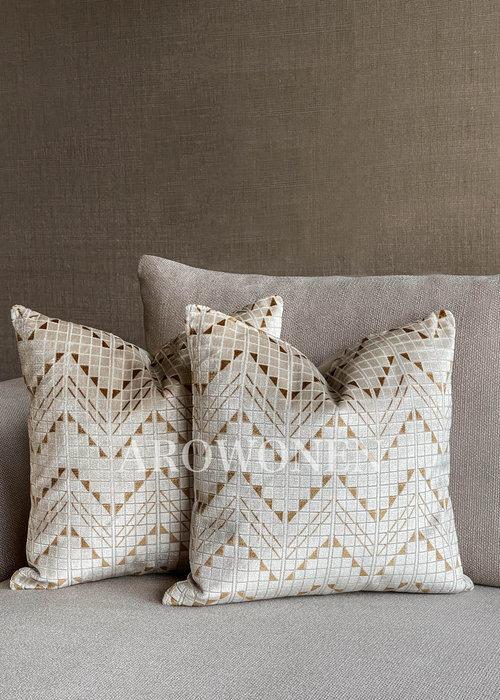 Decorative Cushion - Judson - Honey Ochre
