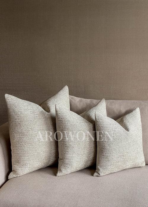 Decorative Cushion - Cornelius - Cottage White