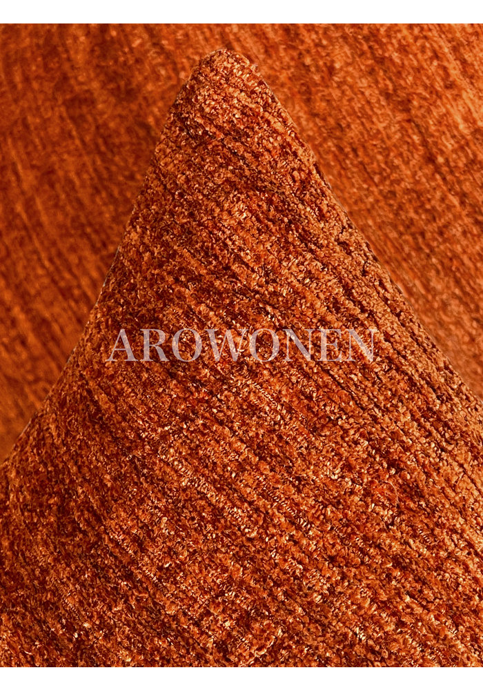 Decorative Cushion - Augustine - Flame Orange